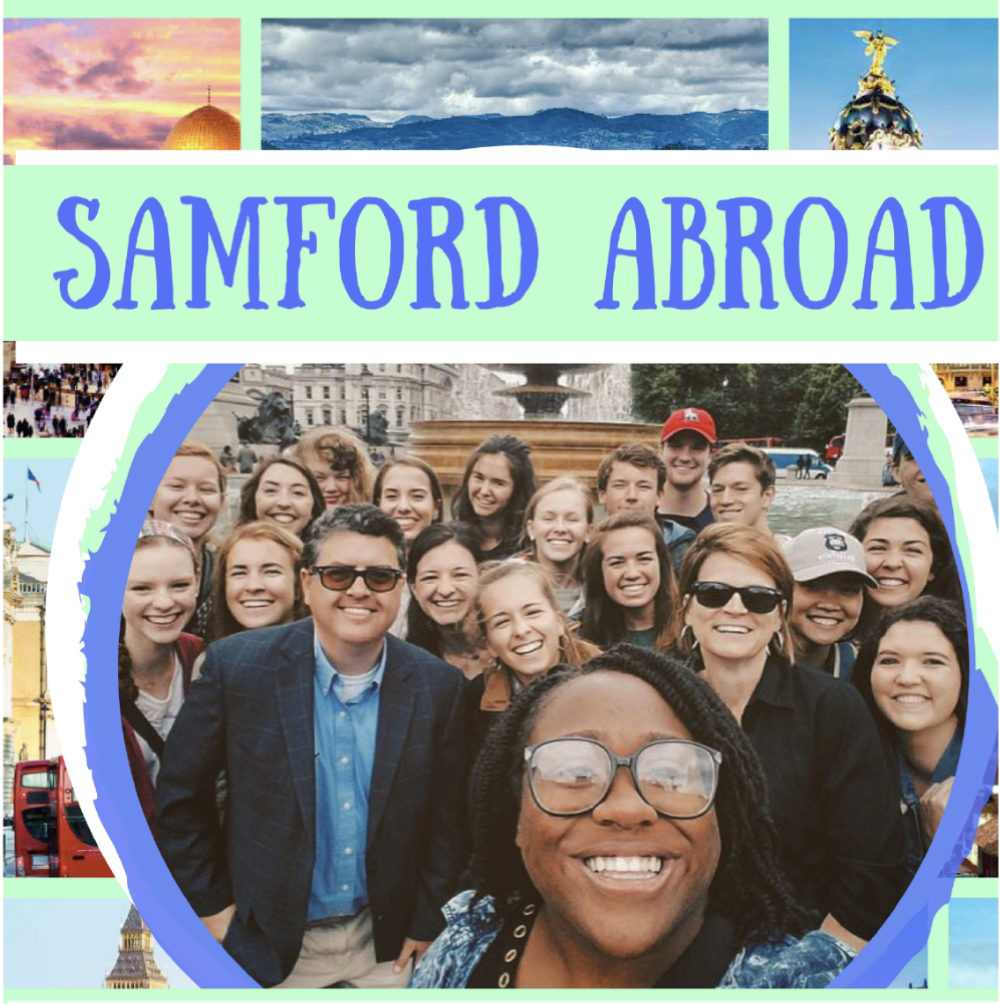 Samford Abroad Graphic